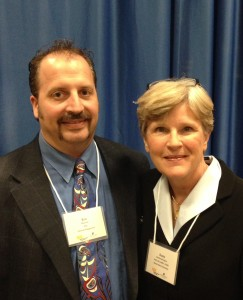 Drs. Eric B. Bauman & Suzie Kardong-Edgren at the 2014 NLN Boise State Simulaiton Conference